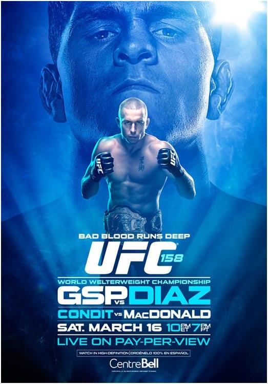 UFC 158 poster = UFC 143 Poster UFC-158