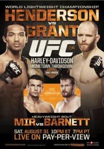 UFC 164 Poster