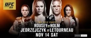 UFC 193 Small