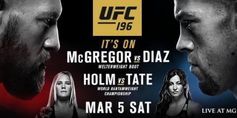 UFC 196 Rec