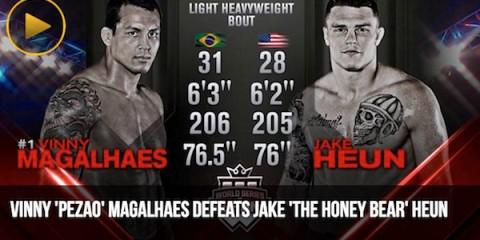 Magalhaes vs Heun