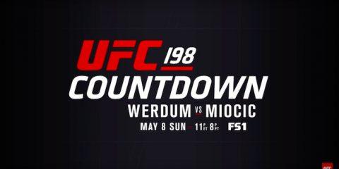UFC 198 Countdown Logo