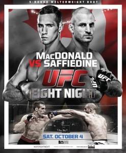 UFC Fight Night 54 Poster