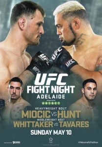 UFC Fight Night 65 Poster