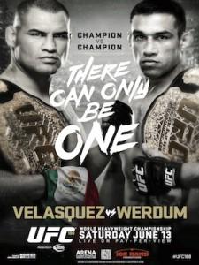 UFC 188 Poster