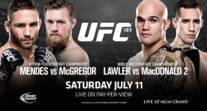 UFC 189 New