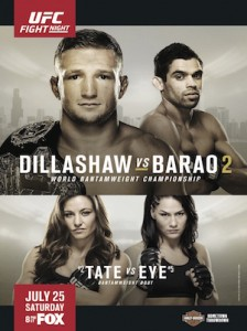 UFC on FOX 16 Poster WEB