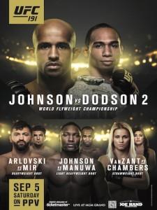 UFC 191 Poster SOCIAL 2