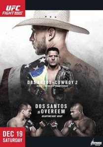 UFC on FOX 17 Poster