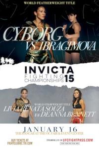 Invicta FC 15 Poster