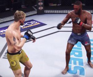 UFC 232 Fight Simulation