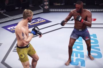 UFC 232 Fight Simulation