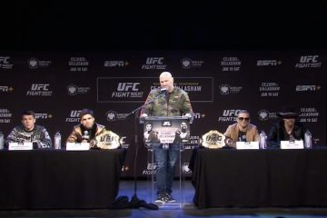 UFC Brooklyn Pre-Fight Press Conference