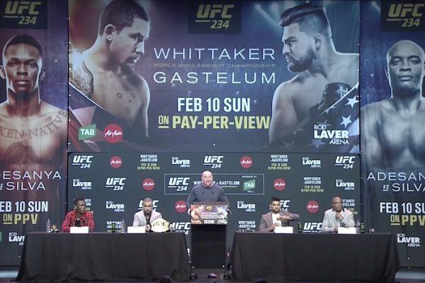 UFC 234 Pre-Fight Press Conference