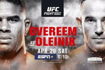 UFC St. Petersburg