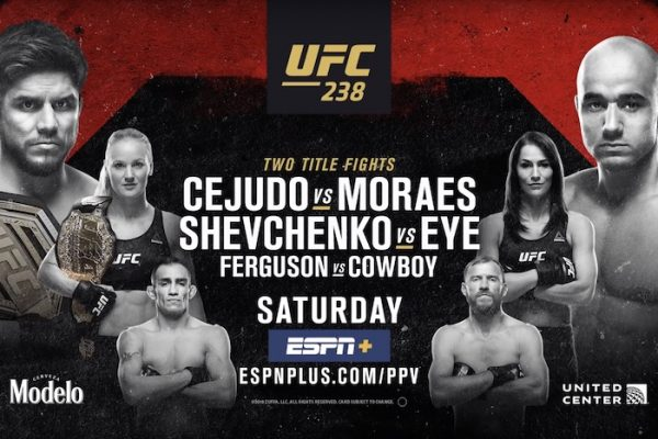UFC 238 DFS Show with Jason Floyd and Pete Rogers Jr.