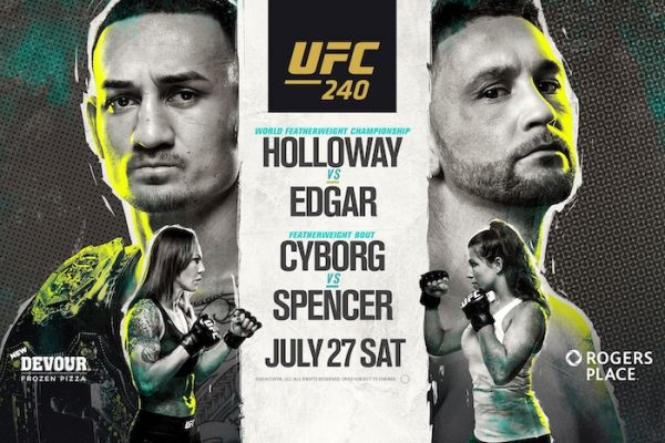 UFC 240 DFS Show with Jason Floyd and Pete Rogers Jr.