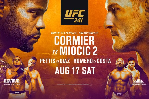 UFC 241 DFS Show with Jason Floyd and Pete Rogers Jr.